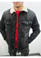 Veste jean fourré à l'intérieur DIELE&CO